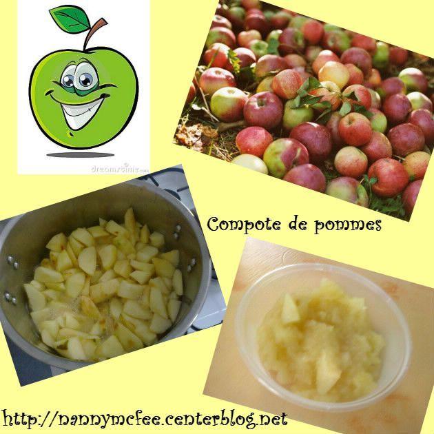 Compote de pommes faite maison - Compote de poire maison ...